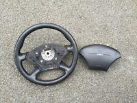 Ford focus mk1 steering wheel and airbag