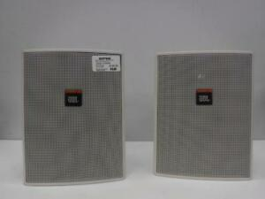 JBL CONTROL 25 Compact Loudspeaker. We sell used speakers. 105135. Je615403.