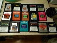 Atari carts some very rare