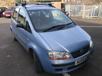 Fiat idea active 1.4 petrol 2004-04 plate! Mot jan 2018! 115,000 miles! Very good runner and drive!!