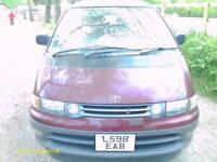 toyota estima lucida turbo diesel automatic overdrive 8 seater space wagon 1993 l reg with tow bar