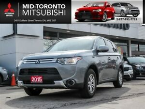2015 Mitsubishi Outlander ES One Owner|Alloys|Bluetooth