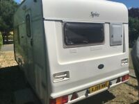 Caravan 1998 bailey spire 2 berth