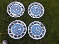 mercedes hub caps