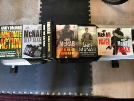 Andy McNab books x 8