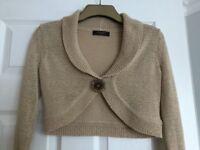 Principles Short Knitted Cardigan/Bolero- Size 8 Petite