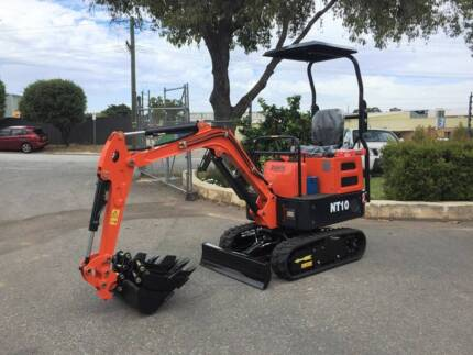 Nante NT10 1t Unused Mini Excavator with 3 Buckets s/n – 623/637