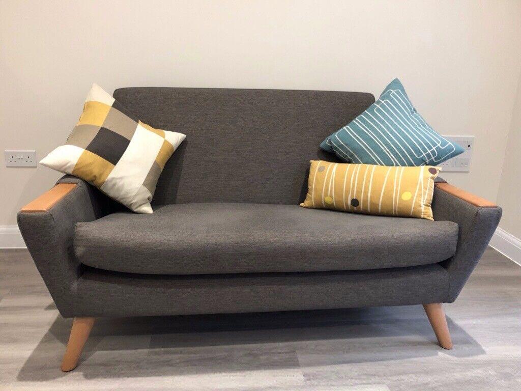 Super G Plan Vintage Small Sofa Armchair And Footstool In Cambridge Cambridgeshire Gumtree Theyellowbook Wood Chair Design Ideas Theyellowbookinfo