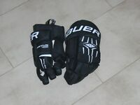 BAUER NEXUS 400 ICE HOCKEY GLOVES FOR SALE