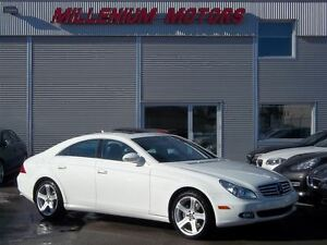 2008 Mercedes-Benz CLS-Class CLS550 / NAVIGATION / LEATHER / SUN