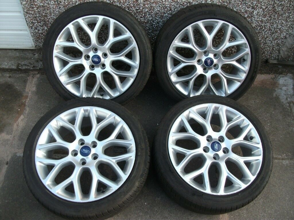 Ford Focus 18 Inch St Line Zetec S Y Shape Alloy Wheels Good Tyres Genuine In Handsworth West Midlands Gumtree