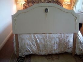 French style double headboard