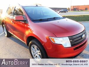 2008 Ford Edge SEL AWD **CERT & E-TEST ACCIDENT FREE ** $6,999