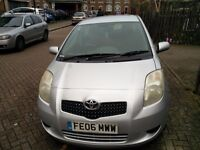GOOD CONDITION 2006 TOYOTA YARIS 1.0 MANUAL,LOW MILES 76000