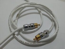 Black Rhodium Rhythm Subwoofer Phono Cable High Quality