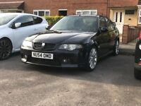 Mg zs 180 11 months mot 74k on clock. Very good condition.