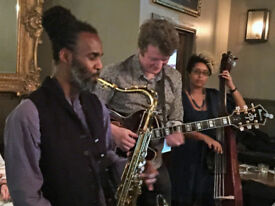 London's most booked jazz band at your Xmas party?