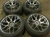 Japan racing wheels jr18 18x8.5j 112x5