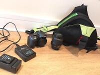 Nikon D3100 + Bag