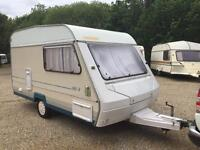 1993- 4 ABI MARAUDER 380-2 2 BERTH TOURING CARAVAN READY TO GO