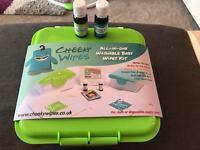 Washable Baby Wipes Kit & Oils - Brand New