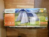 5 Man Tent with Awning. Used once so like new