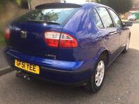 2001 seat Leon 1.4 Mot cheap insurance
