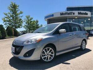 2017 Mazda Mazda5 GT LEATHER, SUNROOF, HEATED SEATS, SEATS 6