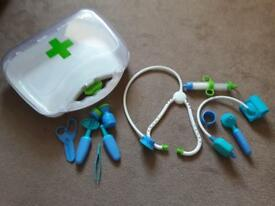 Early learning doctor play set