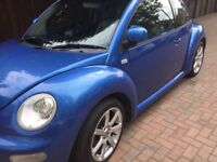 Beetle sunroof nice wheels sporty summer nice colour Automatic