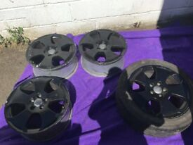 Audi/seat/vw alloys with good tyres
