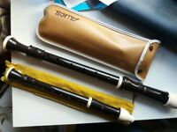 Alto and Soprano Recorders with cases, good quality condition