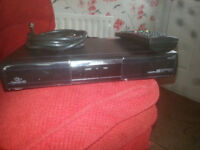 for sale humax hd freesat box with remote £15