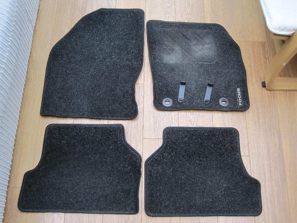 Genuine Ford Focus MK2 2005-2011 Set of 4 Tailored Carpet Car Floor Mat Set