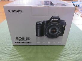 Canon EOS 5D Mark1 Body. Boxed. Good condition
