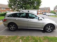 MERCEDES R350 R CLASS 3.5 7G-TRONIC SPORT 6 SEATER AUTOMATIC 4X4 LPG