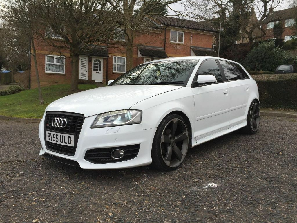 audi a3 s3 2012 facelift replica modified 1 9 tdi remap drls leds navi exhaust in high. Black Bedroom Furniture Sets. Home Design Ideas