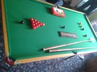 Snooker table & more