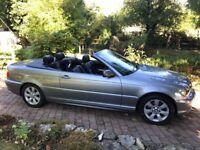 BMW 318i CE SE 2.0 Litre Convertible Automatic 2005 64,000 miles.