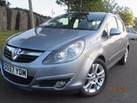2007 CORSA 1.4 SXI, NEW MOT, 71K, LADY OWNER, AIR CON PARKING, SENSORS, STUNNING
