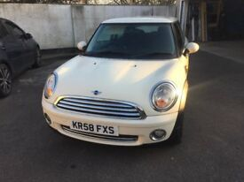 Minie One 1.4 Petrol White 1 previous owner Full service history