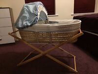 Moses basket/ Baby cot/Cribs with stand