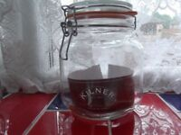 New Kilner , bottleing Jars