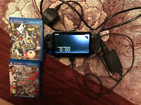 Ps vita 3g/wifi mint condition like new plus accessories and games