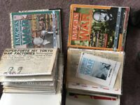 War magazines in folders images of war newpapers second world war ww1 ww2 japan germany england
