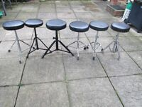 Drums - Drum Stools - 5 Available
