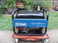 SDMO SH2500 2KW HONDA POWERED PETROL GENERATOR