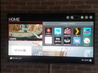 LG 55 inch 4k tv for sale