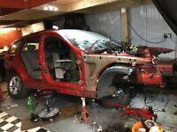BMW 3 SERIE E91 2011 318I VEHICLE SHELL WITH V5 LOG BOOK