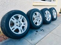 Original Alloy Wheels and Tyres Land Rover (Range Rover) Sport, Discovery, Freelander